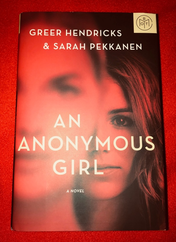 Book Review on An Anonymous Girl – Sarah's Reading Corner
